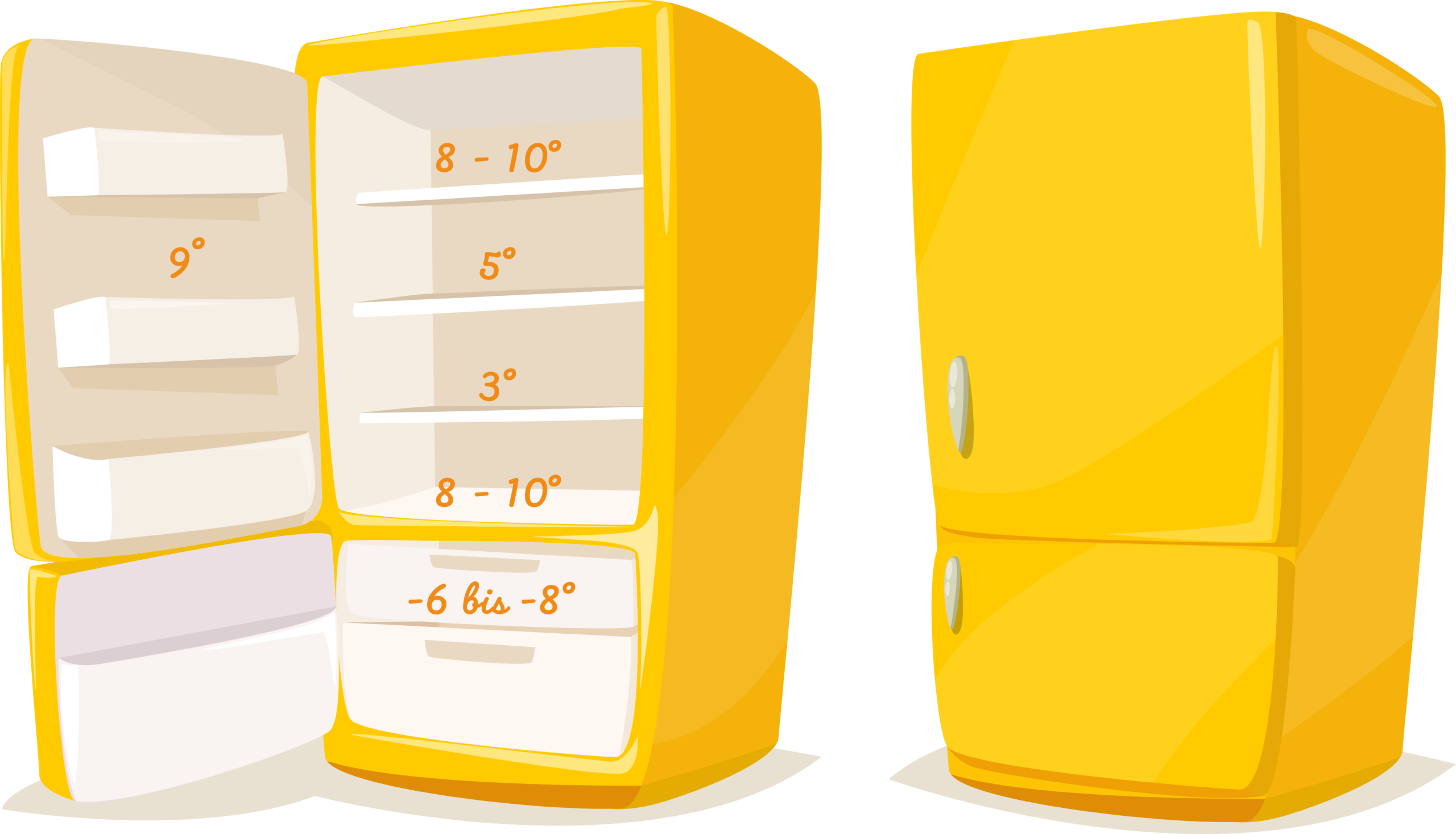 Lebensmittel im Kühlschrank lagern: Temperaturzonen